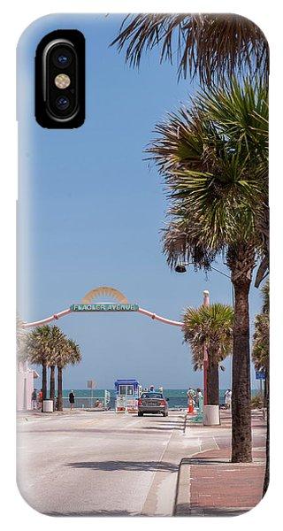 Usa, Florida, New Smyrna Beach, Flagler Phone Case by Lisa S. Engelbrecht
