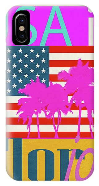 Usa Is Florida IPhone Case
