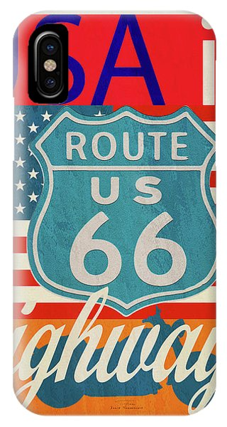Highway iPhone Case - Usa Is Highways by MGL Meiklejohn Graphics Licensing