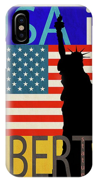 Usa Is Liberty IPhone Case