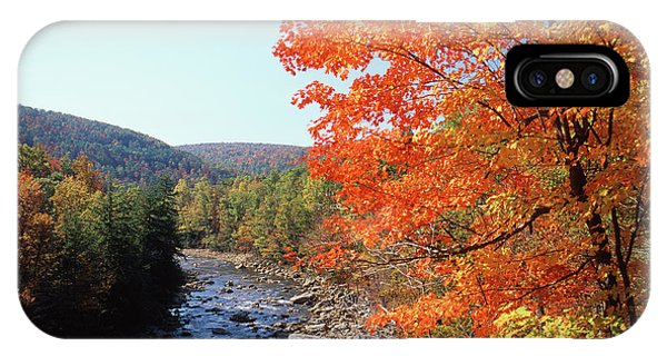 Appalachian Mountains iPhone Case - Usa, Maryland, Potomac State Forest by Adam Jones