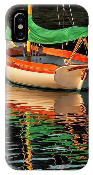 Cape Cod iPhone Case - Usa, Massachusetts, Cape Cod, Moored by Ann Collins