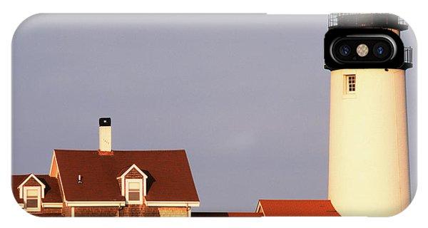 Cape Cod iPhone Case - Usa, Massachusetts, North Truro, Cape by Walter Bibikow