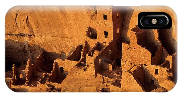 Usa, Native American Cliff Dwellings IPhone Case