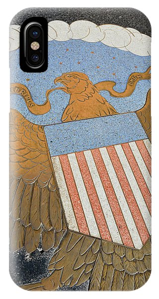 Usa, Nevada, Bas Relief Plaque IPhone Case