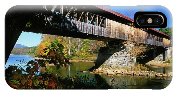 Covered Bridge iPhone Case - Usa, New Hampshire, Campton by Jaynes Gallery
