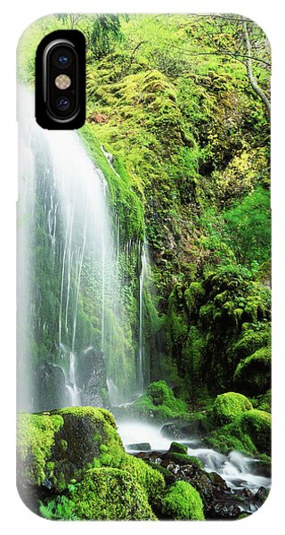 Colombia iPhone Case - Usa, Oregon, Colombia, Mt Hood National by Stuart Westmorland