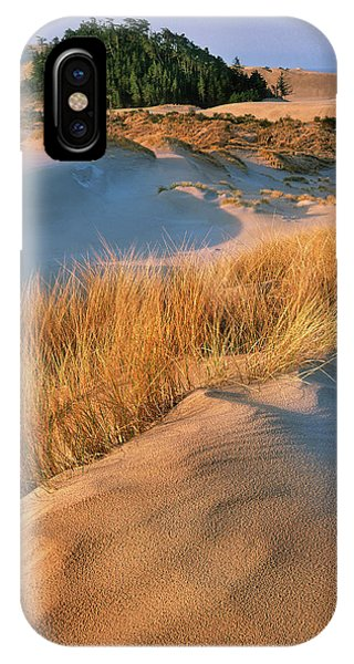 Oregon Sand Dunes iPhone Case - Usa, Oregon, Dunes National Recreation by Jaynes Gallery