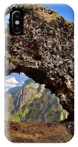 Basalt iPhone Case - Usa, Oregon Rock Of Ages Arch by Jaynes Gallery