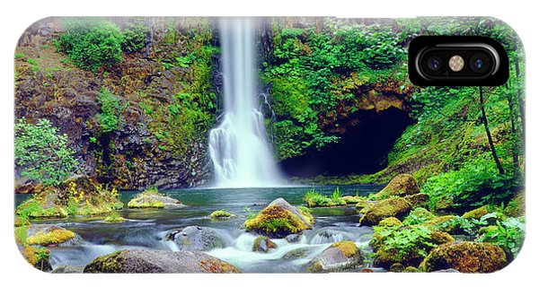 Basalt iPhone Case - Usa, Oregon, Toketee Waterfall by Jaynes Gallery