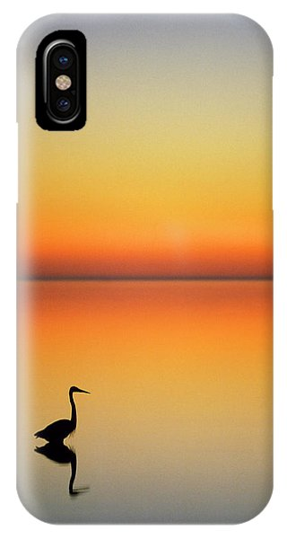 Port Orange iPhone Case - Usa, Texas, Port Aransas, Great Blue by Jaynes Gallery