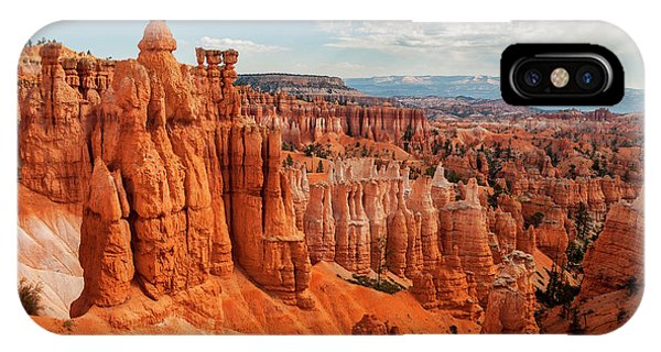 Usa, Utah, Bryce Canyon National Park Phone Case by Ann Collins