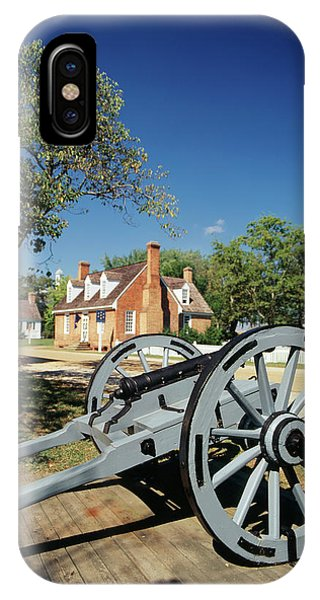 Usa, Virginia, Yorktown, Cannon IPhone Case