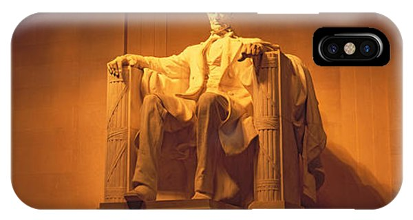 Lincoln Memorial iPhone Case - Usa, Washington Dc, Lincoln Memorial by Panoramic Images