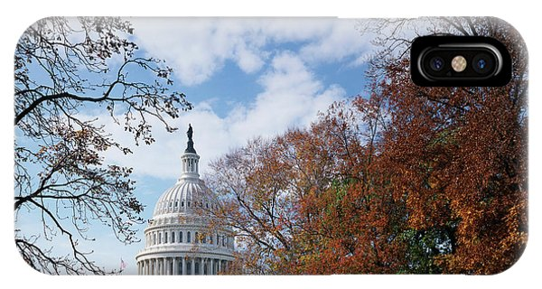 Capitol Building iPhone Case - Usa, Washington Dc, View Of Capitol by Scott T. Smith