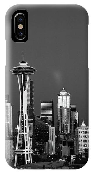 Usa, Washington State, Seattle, Space Phone Case by Adam Jones