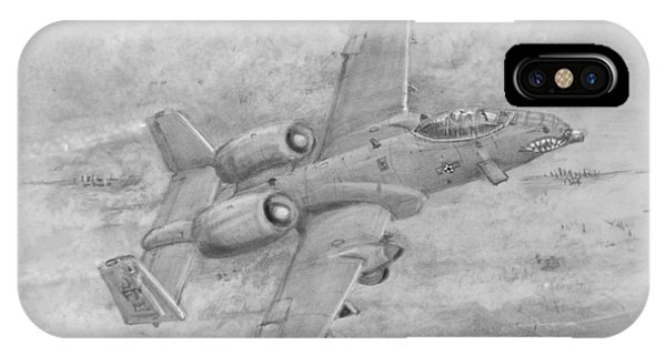 Usaf Fairchild-republic  A-10 Warthog IPhone Case