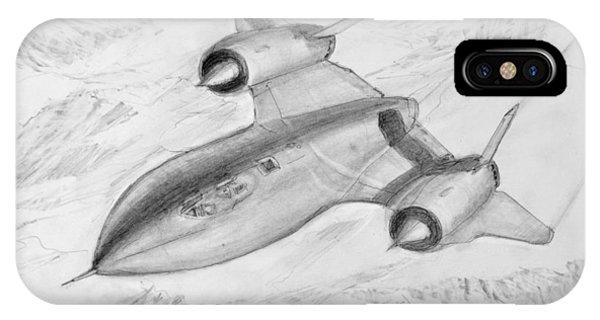 Usaf Lockheed Sr-71 Blackbird IPhone Case