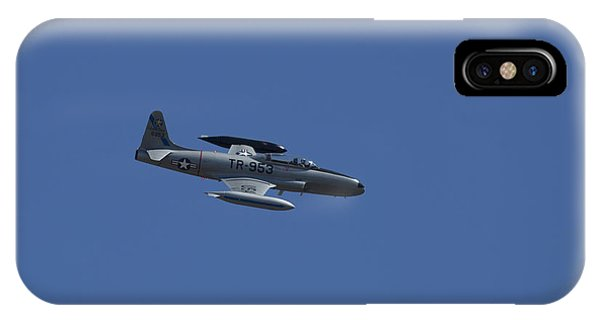 Usaf Lockheed T-33 'tr-953' Fly By IPhone Case