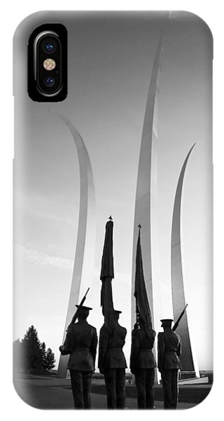 Usaf Memorial IPhone Case
