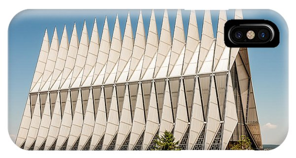 Air Force Academy Chapel IPhone Case