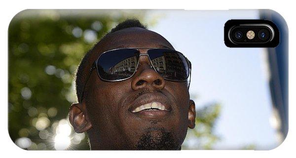 Usain Bolt - The Legend 1 IPhone Case