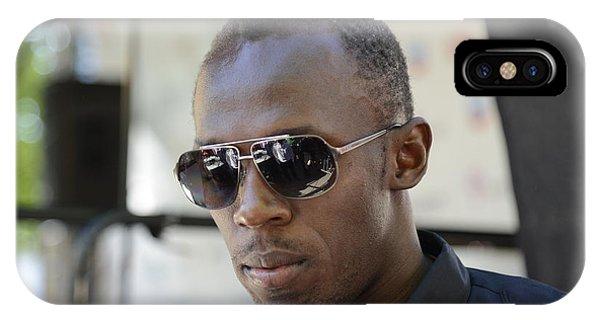 Usain Bolt - The Legend 3 IPhone Case