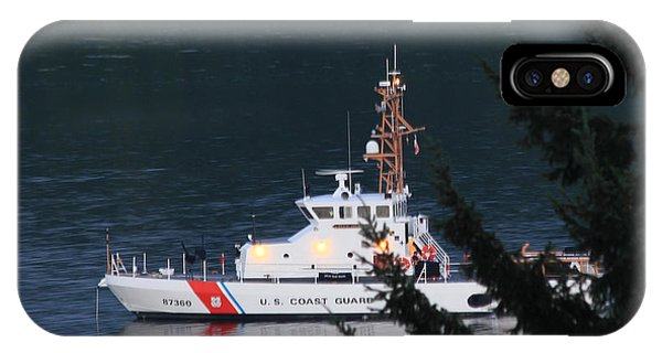 Uscgc Blue Shark IPhone Case