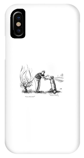 Use A Five Iron! IPhone Case