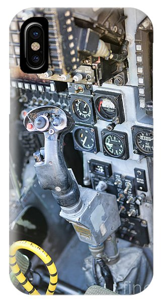 Usmc Av-8b Harrier Cockpit IPhone Case