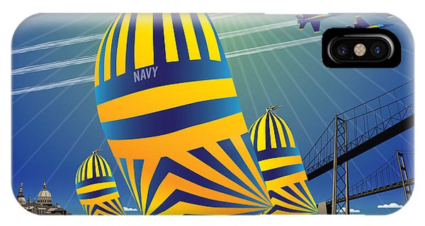 Usna High Noon Sail IPhone Case