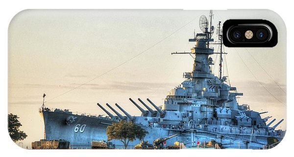 Uss Alabama IPhone Case