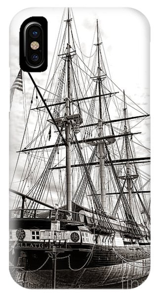 Moor iPhone Case - Uss Constellation by Olivier Le Queinec
