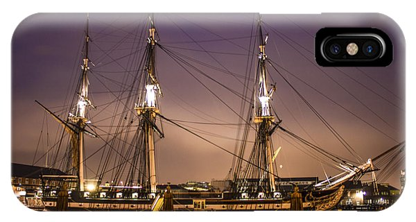 Uss Constitution Boston   IPhone Case
