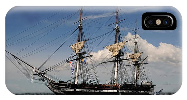 Uss Constitution - Featured In Comfortable Art Group IPhone Case