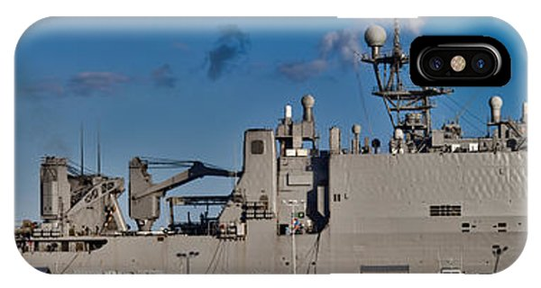 Uss Fort Mchenry IPhone Case