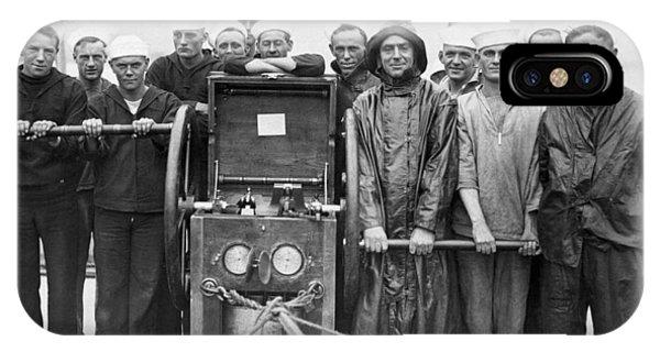 Uss Pennsylvania Dive Crew IPhone Case