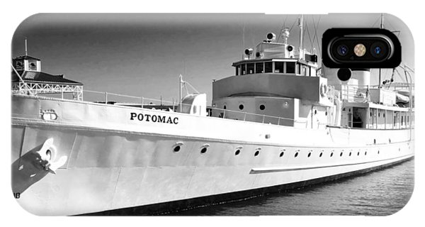 Uss Potomac IPhone Case