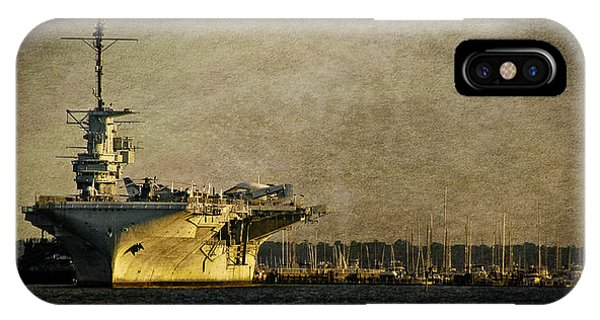 Uss Yorktown Cv10 IPhone Case