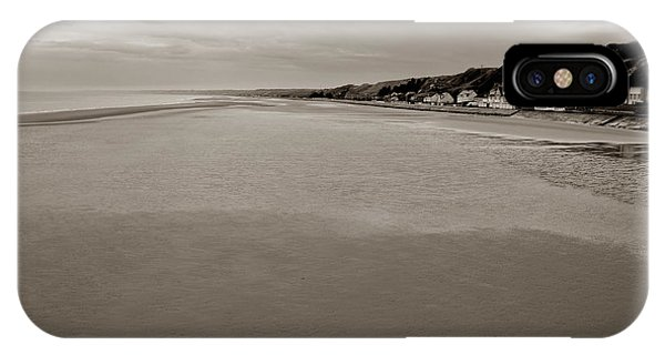 Normandy iPhone Case - Utah Beach by Olivier Le Queinec