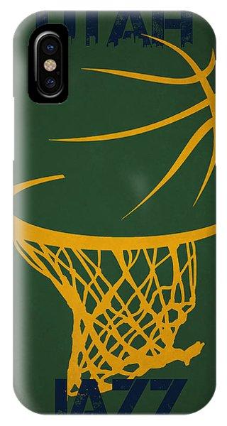 Utah Jazz Hoop IPhone Case