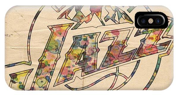 Utah Jazz Poster Art IPhone Case