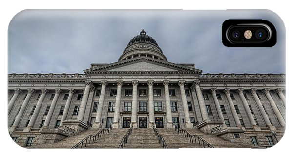 Capitol Building iPhone Case - Utah State Capitol Building by Michael Ver Sprill