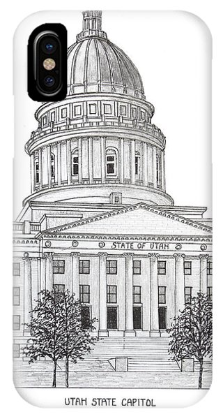 Utah State Capitol IPhone Case