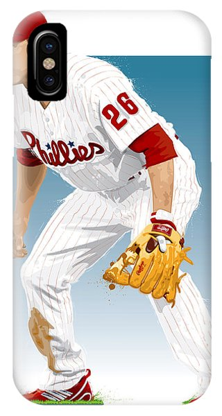 Utley In The Ready IPhone Case
