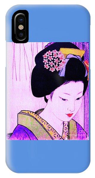 Utsukushii Josei Ichi IPhone Case