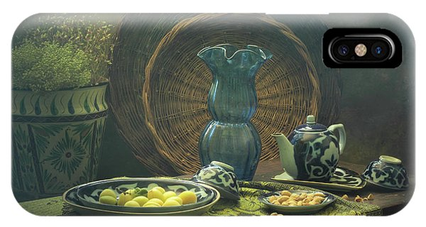 Interior iPhone Case - Uzbekistan Still Life by Ustinagreen