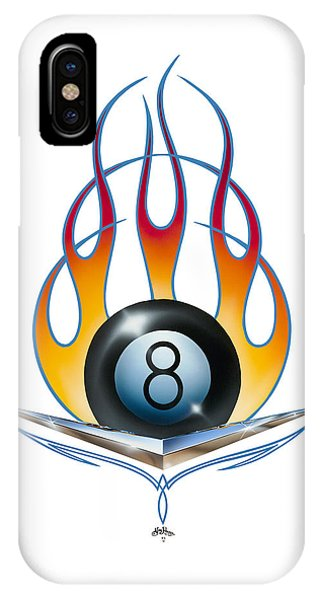 V 8 IPhone Case