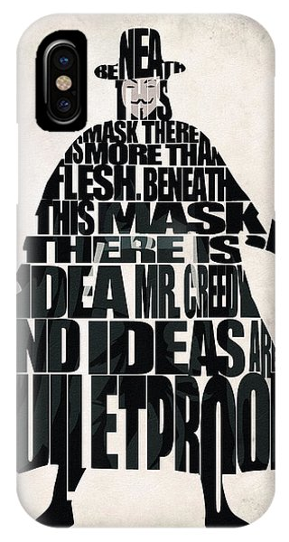 V For Vendetta IPhone Case