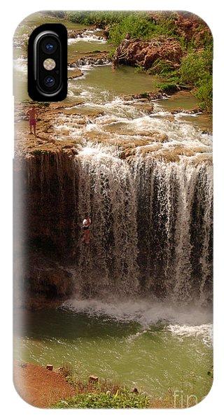 Vacation At Lower Navajo Falls IPhone Case